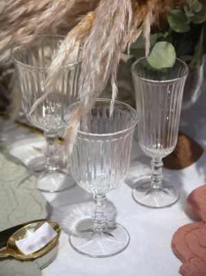 Shabby chic glass