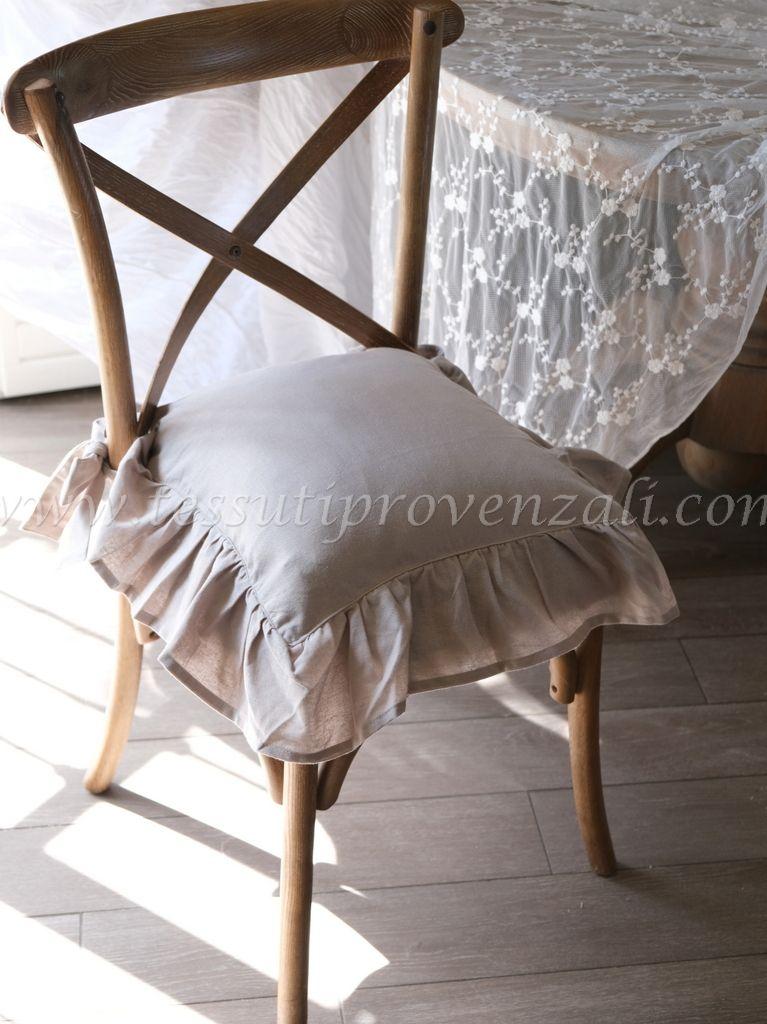 Copricuscino per sedia Blanc Mariclò serie