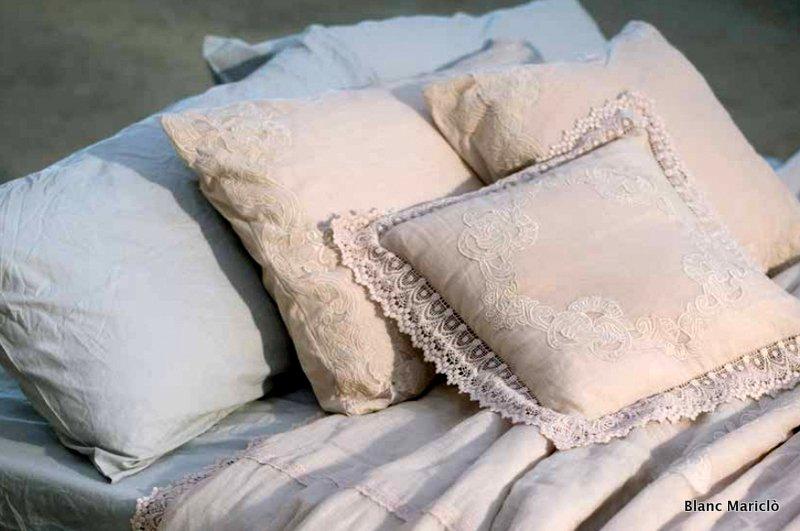 cuscini shabby blanc mariclò rosa
