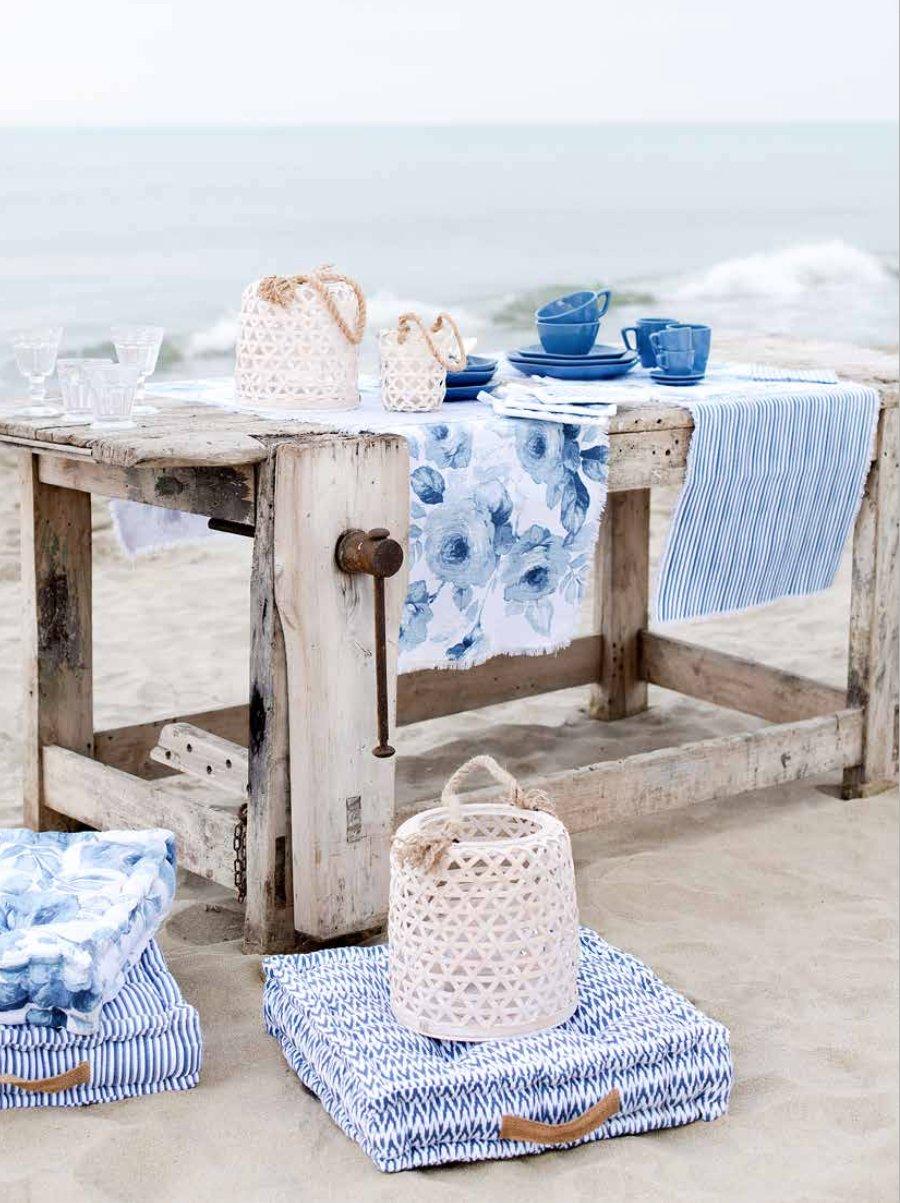 Mare mare mare arredo shabby in blu e tiffany for Case in stile cottage sulla spiaggia